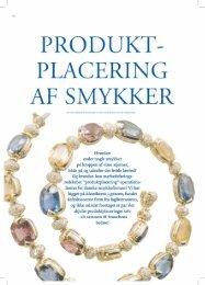 Produktplacering af smykker