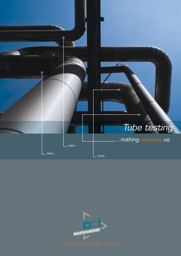 Tube testing - Applus RTD