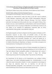 Untersuchungen über die Eignung von Dopplersonographie ... - AET-d