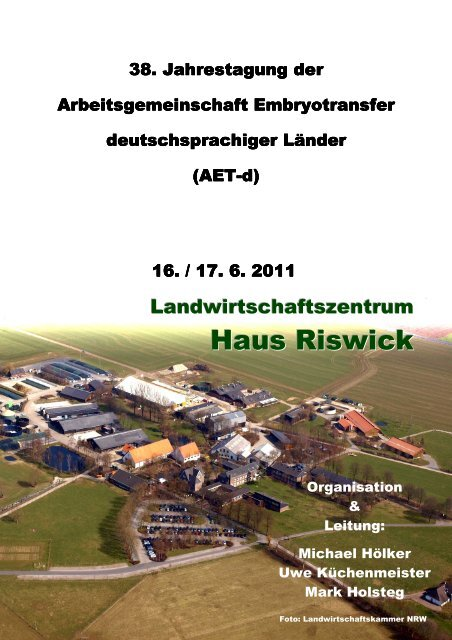 Tagungsprogramm 2011 - AET-d