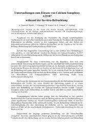 Untersuchungen zum Einsatz von Calcium-Ionophore ... - AET-d