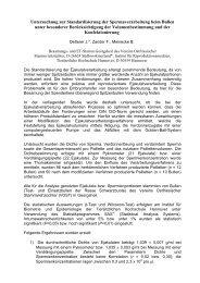 Untersuchung zur Standardisierung der ... - AET-d