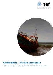 Arbeitsplätze – Auf See verschollen - Ocean2012