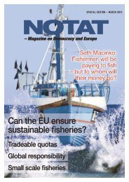 Can the EU ensure sustainable fisheries?