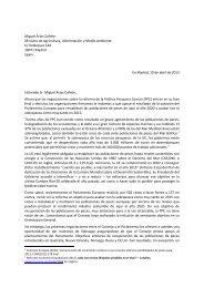 Miguel Arias Cañete Ministro de Agricultura ... - Ocean2012