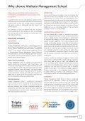 2011 Undergraduate & Graduate Prospectus - Waikato ... - Page 7