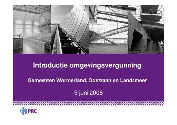 Presentatie Wormerland Wabo - PRC 20080605 - Besluitvorming