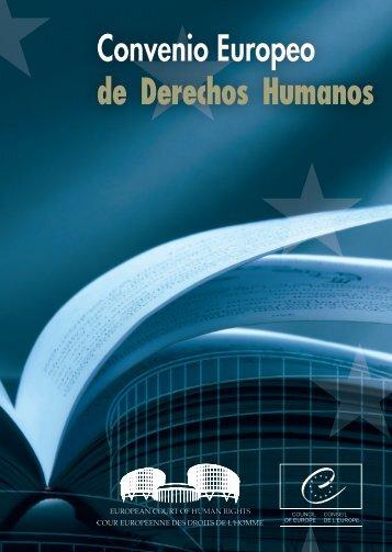 Convenio Europeo de Derechos Humanos - European Court of ...