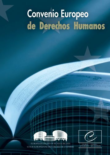 Convenio Europeo de Derechos Humanos - European Court of ...
