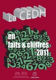 La CEDH en faits et chiffres 2011 - European Court of Human Rights