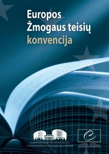 Europos Žmogaus teisių ir pagrindinių laisvių apsaugos Konvencija