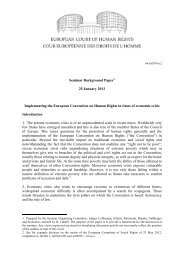Seminar background paper 2013 - European Court of Human Rights ...