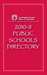 Directory - Los Angeles County Department of Children and Family ...