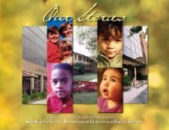 Our Stories - Los Angeles County Department of Children and ...