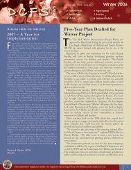 DCFS News Winter Issue - Los Angeles County Department of ...