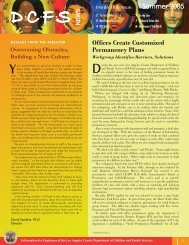 DCFS News Summer Issue (PDF) - Los Angeles County Department ...