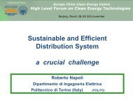 Roberto NAPOLI: Sustainable and efficient distribution system