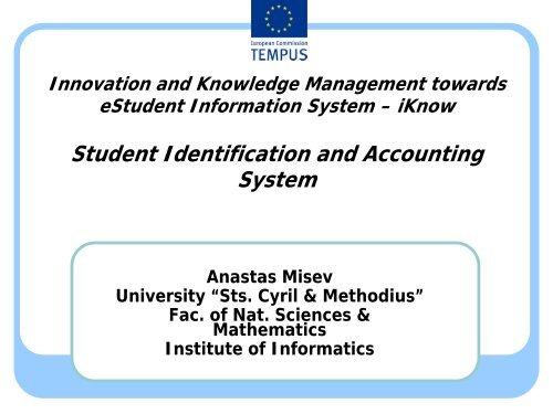 UKIM iKnow module 1 3 functional requirement - University