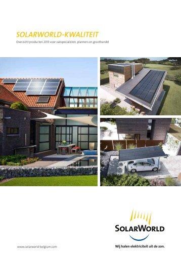 testwinnaar solarworld ag. Black Bedroom Furniture Sets. Home Design Ideas