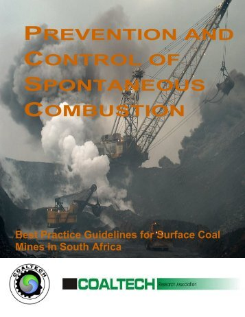 prevention and control of spontaneous combustion - Mining and