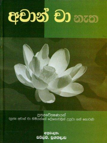 Achan Cha Netha - Ajahn Chah