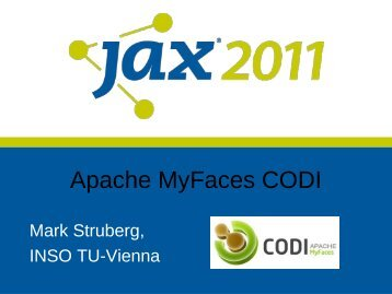 Apache MyFaces CODI - Committers - The Apache Software ...