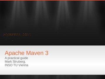 Apache Maven 3 - The Apache Software Foundation!