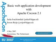 PDF: ApacheCon presentation EU 2007 - Committers