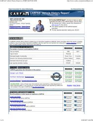 CARFAX Vehicle History Report on JT8BF22G9V0012098