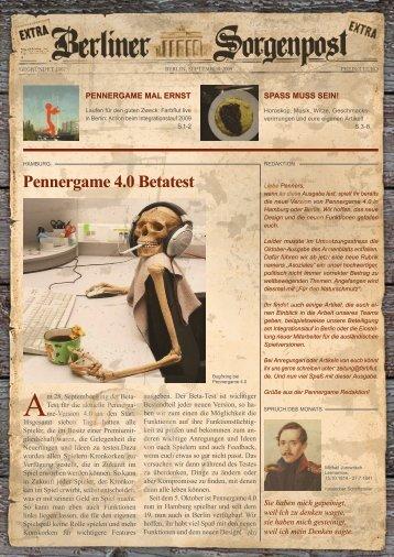 Pennergame 4.0 Betatest - Hostarea.de