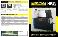 HBG (Landa) Spec Sheet 00.04 - Boydco.com