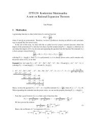 Rational functions - Cs.ioc.ee