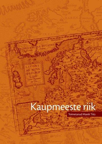 Kaupmeeste riik - Eesti Teaduste Akadeemia