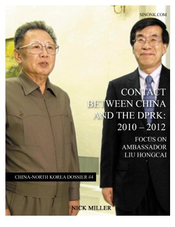 China-North Korea Dossier No. 4 - SINO-NK