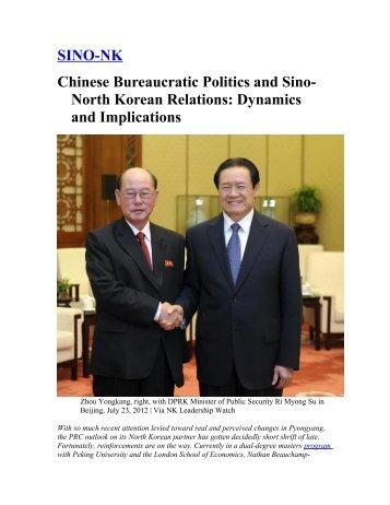 North Korean Relations - SINO-NK