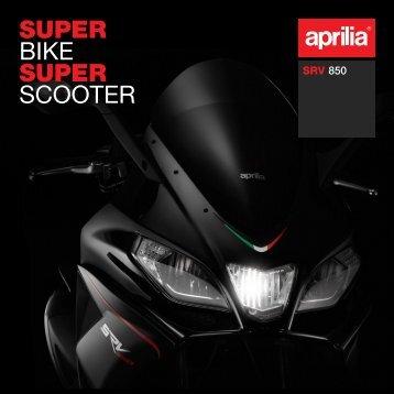 SUPER BIKE SUPER SCOOTER - Aprilia