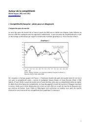 Autour de la compétitivité - Hussonet - Free