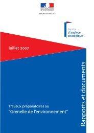 RAPPORT dans sa totalité (PDF) - Centre d'analyse stratégique