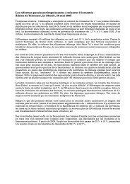 Allemagne : les réformes impuissantes à relancer l ... - Hussonet