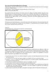 Los retos de la deslocalización en Europa - Hussonet - Free