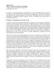 Diane ELSON POUR LA SOCIALISATION DU MARCHE ... - Hussonet