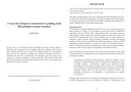 17 ways the European Commission is pushing ... - Hussonet - Free