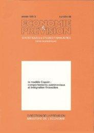 Le modèle Copain - Hussonet