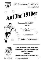 SC Markdorf 1910 e.V.