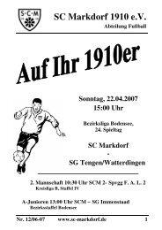 Auf Ihr 1910er Nr-12-06-07 - SC Markdorf 1910 eV