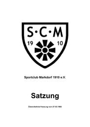 Fassung von 1992 (201 KB) - SC Markdorf 1910 eV