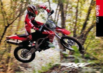 ENDURO MOTORCYCLE - Aprilia