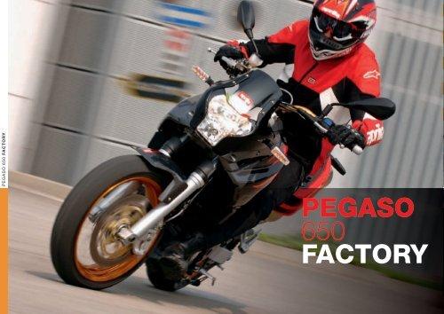 PEGASO 650 + FACTORY - Aprilia
