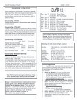 Fourth Sunday of Lent April 3, 2011 - St Thomas More Catholic Church - Page 2