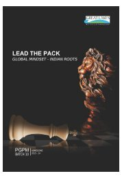 AW_Admissions Brochure - PGPM_ADM - Great Lakes